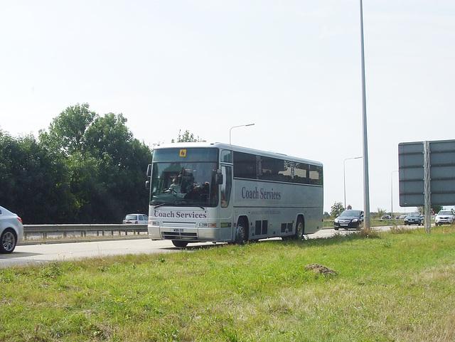 DSCF4893 Coach Services (Thetford) WBN 106 (W606 FUM) at Barton Mills - 27 Aug 2016