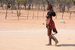 Namibia, Himba Woman