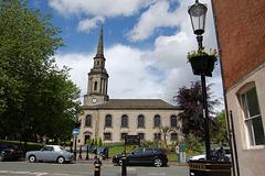 St Paul's Church, St Paul's Square, Birmingham, West Midlands