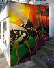 Wand-Kunst: Max-Brauer-Allee, Hamburg-Altona