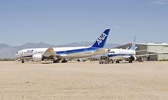 Boeing 787 N787EX and Boeing 737 B-2921 (N759BA)