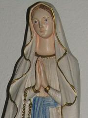 Marienerscheinung in Lourdes (Frankreich)