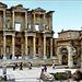 Ephesus - La porta di Mazzeo e Mitridate e la Biblioteca di Celso - (471)