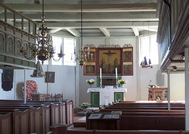 Altarraum der Kirche St. Marien/ Grünendeich