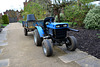 England 2016 – Hatfield House – Jousting tractor