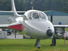 Hunter XE665 at Cotswold Airport (4) - 14 September 2017