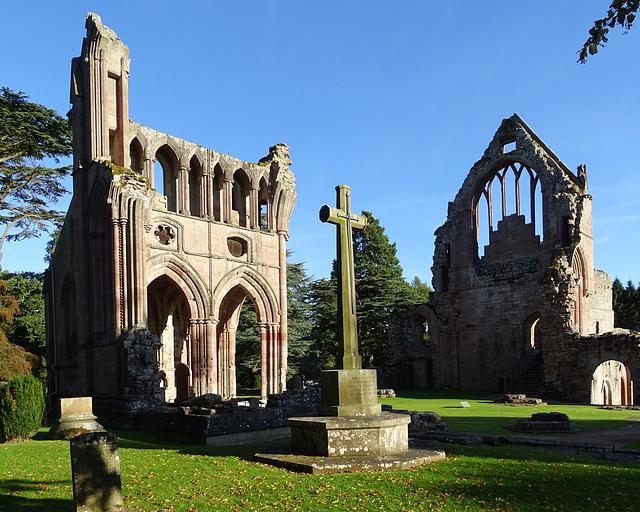 Dryburgh Abbey Church looking east