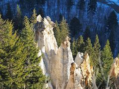 The Hoodoos or Pinnacles near Quesnel, BC