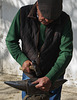Blacksmith at the Andalucian Equestrian School