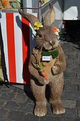 Nürnberg, Easter Bunny at the Fair