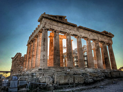 Parthenon at Golden Hour (HDR)