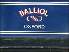 Balliol narrowboat