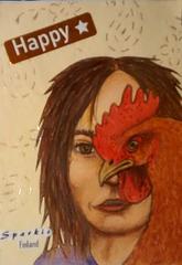 Chicken face