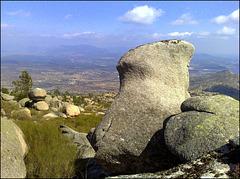 Granite lumps.