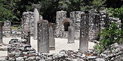 Baptistry ruins