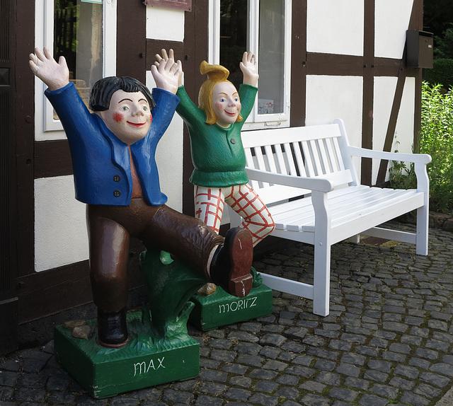 Max und Moritz...