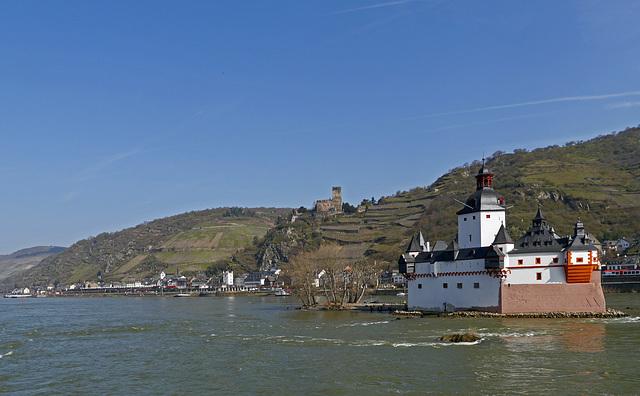 Burg Pfalzgrafenstein und Gutenfels