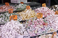 Turkish Delight – Carmel Market, Tel Aviv, Israel