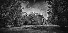 stately mansions....