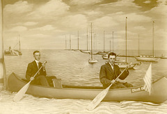 Paddling Their Own Canoe at Olcott Beach
