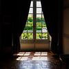 Through the windows of the Château Villandry