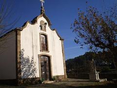 Saint Bartholomew Chapel and statue.