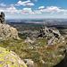 La Cabrera Town seen from Cancho Gordo, Sierra de La Cabrera. (on full screen, please)