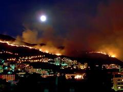 """SPC 8/2019 """"fire"""" v.3 - Grande incendio sulle alture di Genova -"""