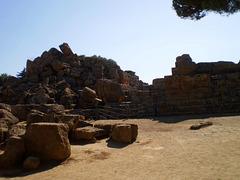 Ruins of Temple of Zeus.