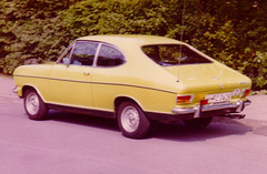 My 1. own car 1971- 76: Opel Kadett B LS Coupé