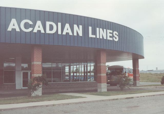 Acadian Lines 919 at Sydney (Nova Scotia) - 8 Sep 1992 (Ref 176-05)