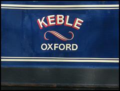 Keble narrowboat