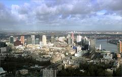 View over Rotterdam...