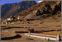 Approche de Manang (Népal)