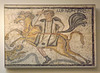 Meleager on Horseback- Part of a Mosaic from Halicarnassus in the British Museum, May 2014