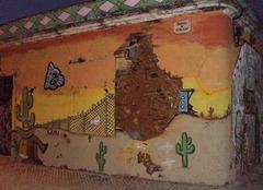 Scene on the border Mexico/Texas.