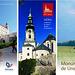 Koloraj turismaj broŝuroj pri Slovakio