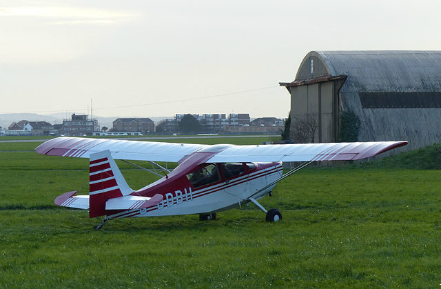 G-BDBH at Lee on Solent (1) - 16 January 2016