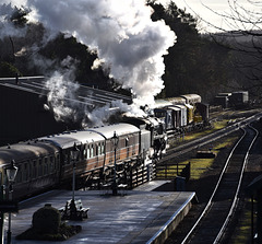 Great Central Railway Rothley Leicestershire 20th December 2018