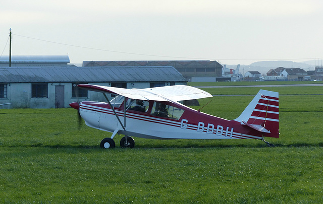 G-BDBH at Lee on Solent (2) - 16 January 2016