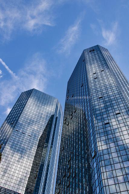 Frankfurt: ein klassischer Blick