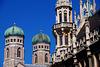 Frauenkirche und Neues Rathaus