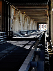 Shadows and Arches on The High Level Bridge