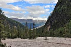 Innerfeldtal bei Sexten - Blick auf die karnische Alpen