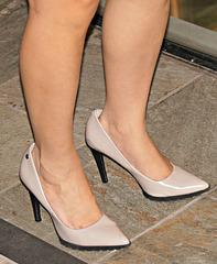 legs and heels closer