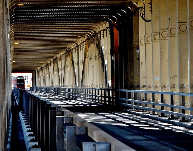 The High Level Bridge, Newcastle.