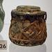 Roman Barbotine Jar in the Virginia Museum of Fine Arts, June 2018