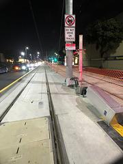 Expo Light Rail in Santa Monica (0217)