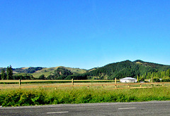 View Across a Farm.