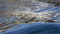 Reflet ondulé